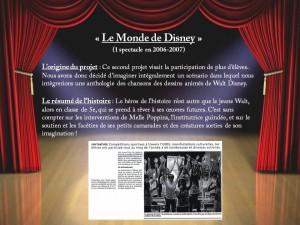 6. Le Monde de Disney
